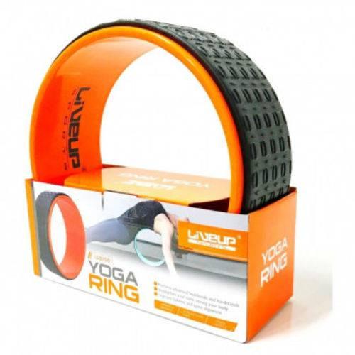 Roda Magic Anel para Pilates e Ioga Texturizado Alaranjado
