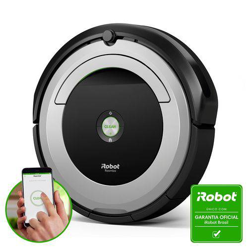 Tudo sobre 'Roomba 690 - Robô Aspirador de Pó Inteligente Bivolt IRobot'