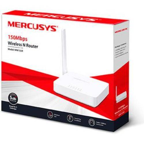 Tudo sobre 'Roteador Mercusys Wi-Fi N 150mbps Mw155r'