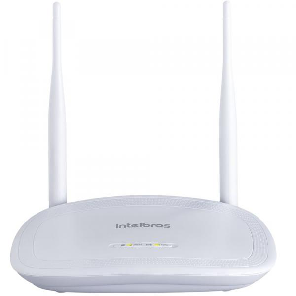 Roteador Wireless 300Mbps 4 Portas Branco Intelbras IWR 3000N