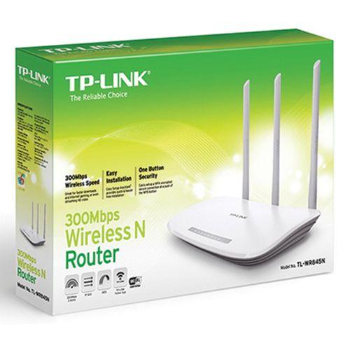 Tudo sobre 'Roteador Wireless N 300mbps Tl-wr845n'