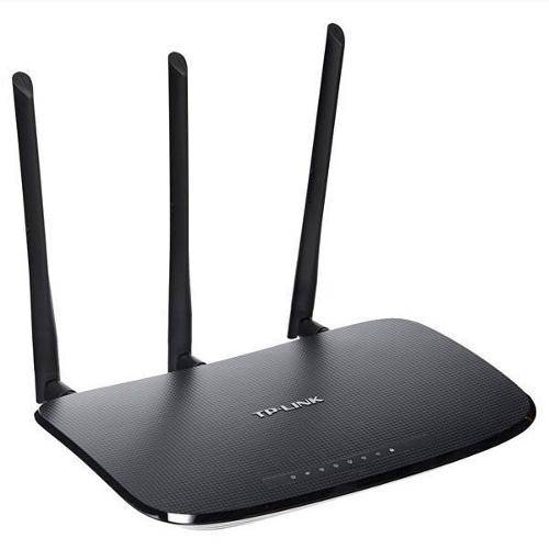 Tudo sobre 'Roteador Wireless Tp-Link Tl-Wr941nd Preto,450mbps,3 Antenas,Wireless'