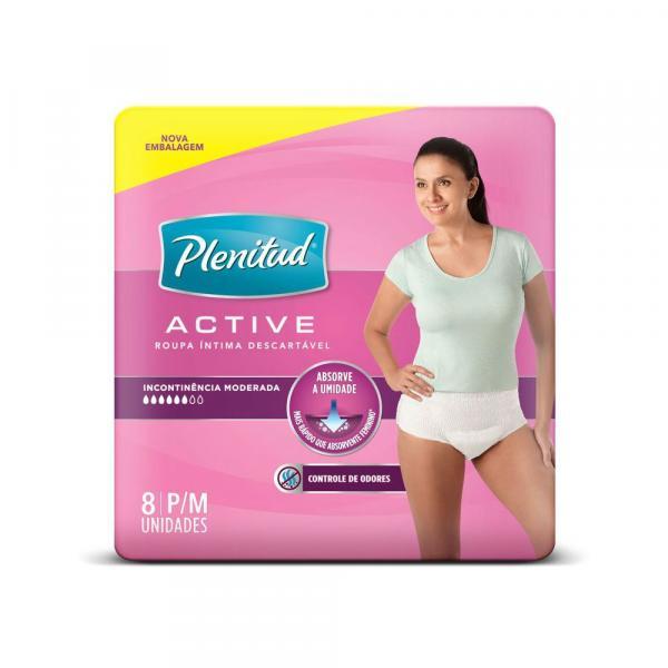 Roupa Intima Active Mulher - 8 Unidades - Plenitud