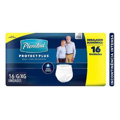 Tudo sobre 'Roupa Intima Plenitud Protect Plus C/16 G/Xg'