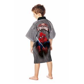 Roupão Aveludado Spider Man Ultimate   Lepper - G