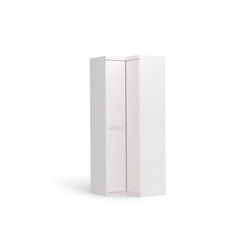 Roupeiro de Canto 2 Portas Branco - Kappesberg