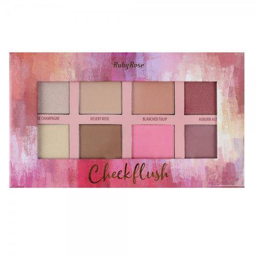 Ruby Rose Cheek Flush - Paleta - HB-7507