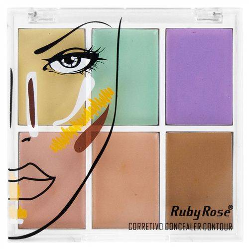 Tudo sobre 'Ruby Rose Corretivo Concealer Contour'