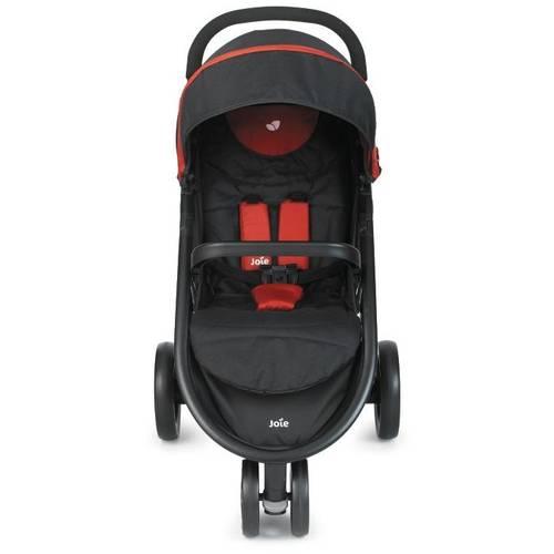Tudo sobre 'S1112 - Carrinho de Bebê Litetrax Lenox Joie Black Chili'