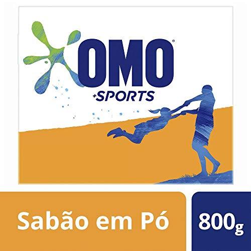 Sabão em Pó Omo Sports 800 G, OMO