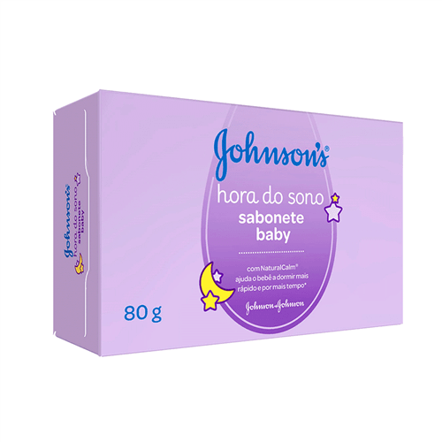 Tudo sobre 'Sabonete Barra Hora do Sono Johnsons Baby 80g'