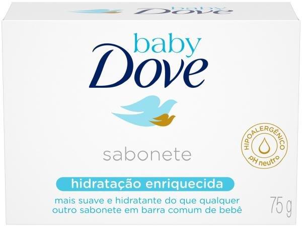 Sabonete Dove Baby Hidratação Enriquecida - 75g