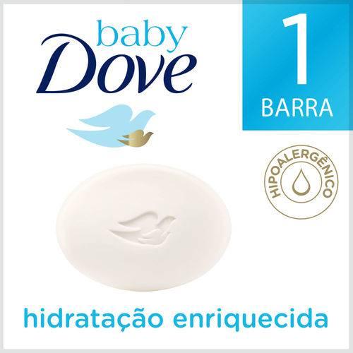 Sabonete Dove Baby Hidratacao Enriquecida 75g
