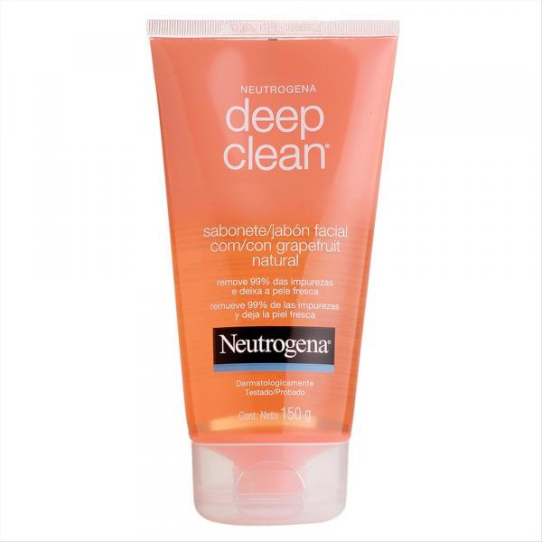 Sabonete Facial em Gel Neutrogena Deep Clean Grapefruit 150g