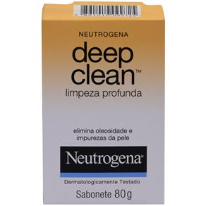 Sabonete Facial Neutrogena Deep Clean – 80 G