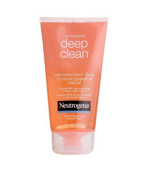 Sabonete Facial NEUTROGENA DEEP CLEAN Gel Grapefruit 150g