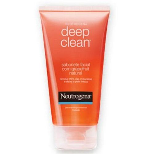 Sabonete Facial Neutrogena Deep Clean Grapefruit - Líquido, 150g