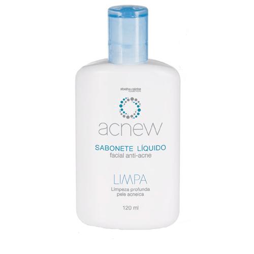 Sabonete Líquido Facial Anti-Acne Limpeza Profunda Pele Acneica - Limp...