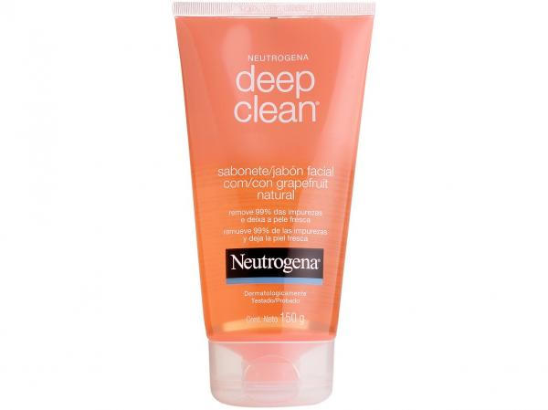 Sabonete Líquido Facial Neutrogena - Eep Clean Grapefruit 150g
