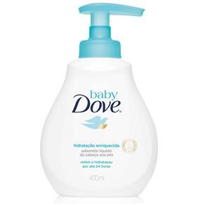 Sabonete Líquido Hidratação Enriquecida da Cabeça Aos Pés 400Ml, Dove