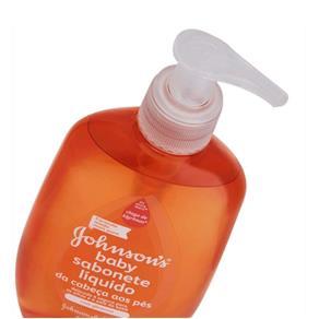 Sabonete Líquido Infantil Johnson Johnson 200Ml Glicerina