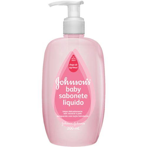 Sabonete Líquido Infantil Johnsons Baby 200ml