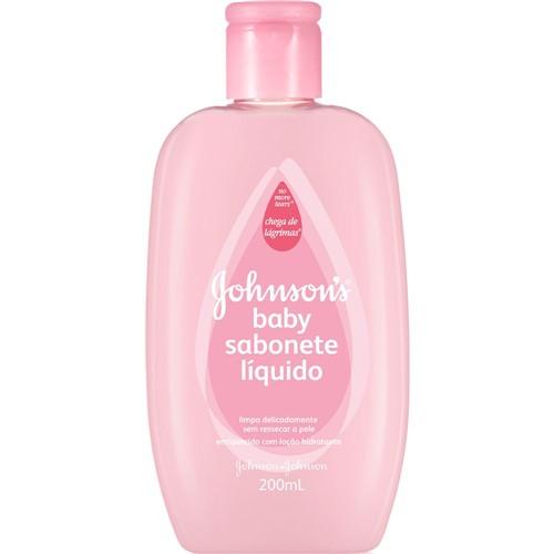 Sabonete Líquido Johnson & Johnson Baby Hidratante
