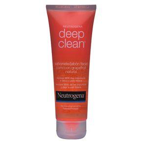 Sabonete Líquido Neutrogena Deep Clean Grapefruit Facial 80g
