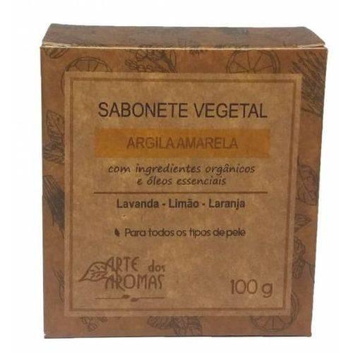 Tudo sobre 'Sabonete Vegetal Argila Amarela 100g Arte dos Aromas'