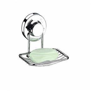 Saboneteira Porta Sabonete Fixação por Ventosas Future