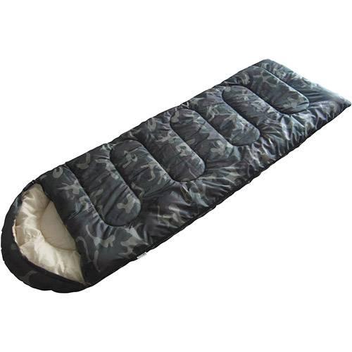Tudo sobre 'Saco de Dormir Camo Camuflado ( 2C a 12C) - 190 + 30 X 75 Cm'