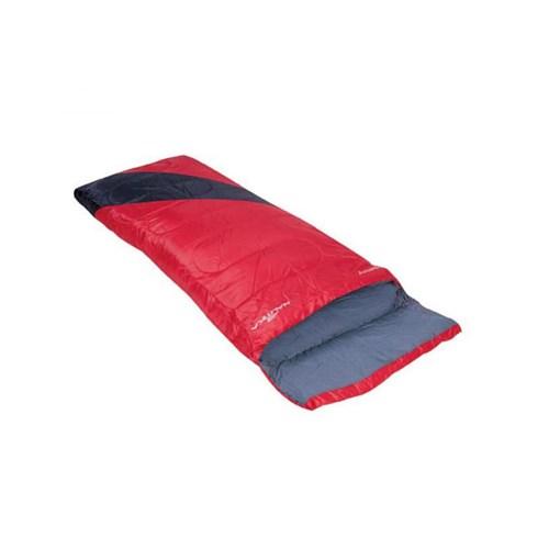 Saco de Dormir Liberty +4°c a +10°c Preto e Vermelho