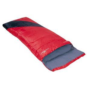 Saco de Dormir Liberty 4ºc a 10º C Vermelho e Preto