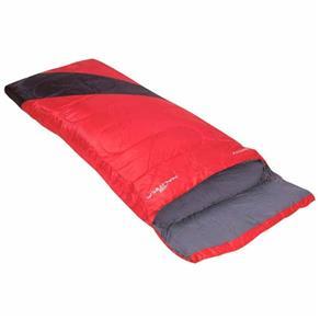 Saco de Dormir Liberty com Descanso de Cabeça SCLI NTK - Vermelho e Preto - Selecione=Vermelho e Preto