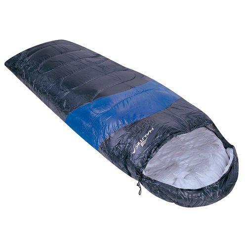 Saco de Dormir Nautika Viper 5º a 12º Preto e Azul 230100