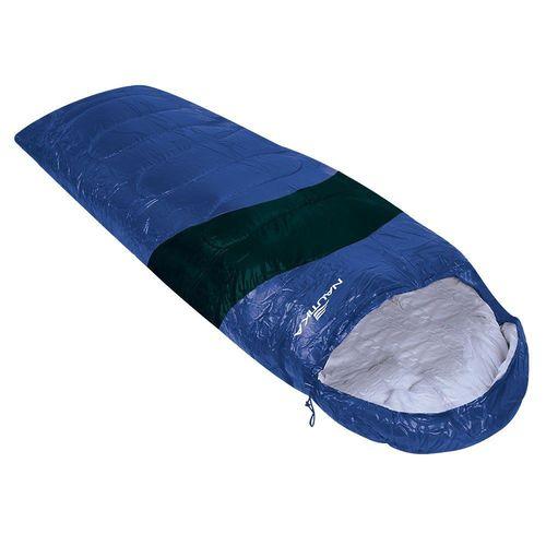 Saco de Dormir Nautika Viper 5ºc a 12ºc Azul e Preto