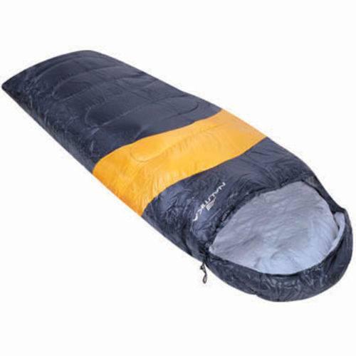 Saco de Dormir Preto e Laranja Viper 5ºC à 12ºC - Nautika