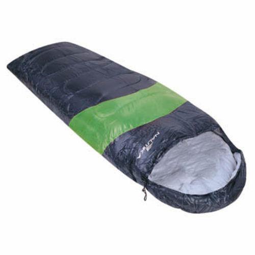 Saco de Dormir Preto e Verde Viper 5ºC à 12ºC - Nautika