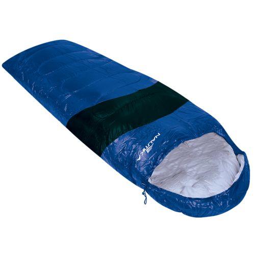Saco de Dormir Viper 5° a 12° Nautika Azul e Preto