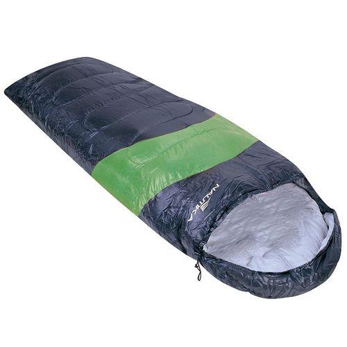Saco de Dormir Viper 5° a 12° Nautika Preto e Verde