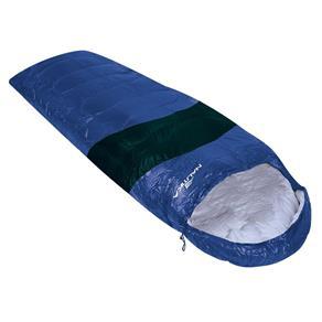 Saco de Dormir Viper 5º a 12º Preto e Azul Nautika 230100
