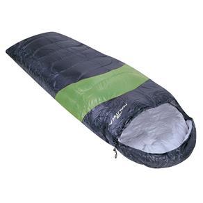 Saco de Dormir Viper 5º a 12º Preto e Verde Nautika 230100
