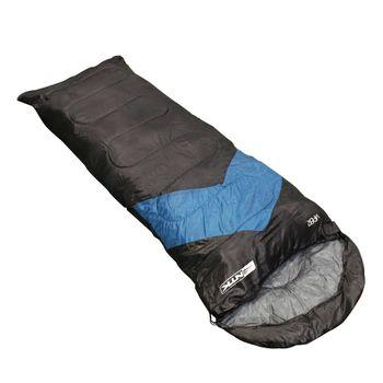 Saco de Dormir Viper Preto e Azul - Nautika Saco de Dormir Viper Preto e Azul - Nautika