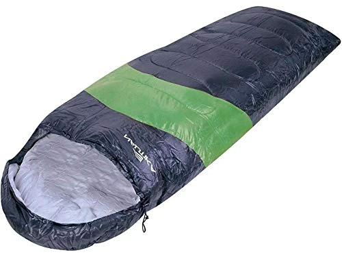Saco Dormir Viper 5c a 12c Preto com Verde Nautika