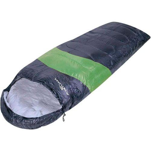 Saco Dormir Viper 5ºc a 12ºc Preto com Verde Nautika