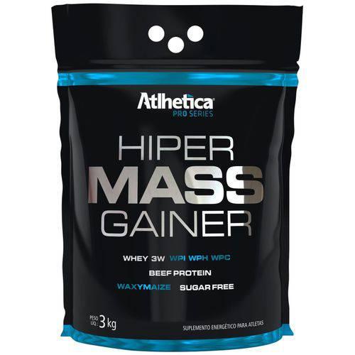 Saco Whey Hiper Mass Gainer 3kg - Atlhetica Pro Series