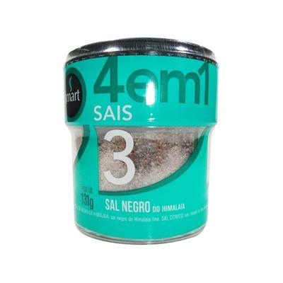 Tudo sobre 'Sais 4 em 1 Sal Negro e Rosa do Himalaia, Sal Cítrico, Sal Marinho do Atlântico 131g - Smart'