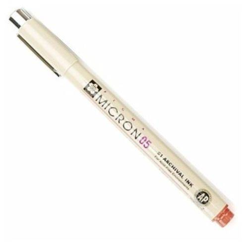 Sakura - Pigma Micron Nanquim 0.5mm - Marrom