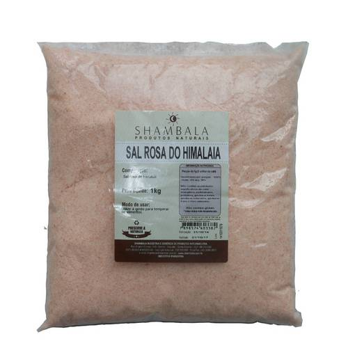Sal Rosa do Himalaia 1kg