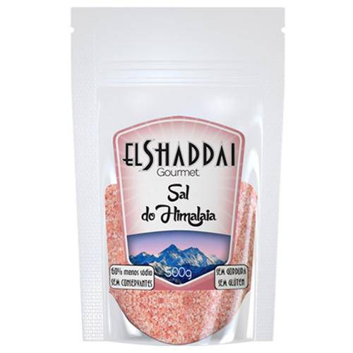 Sal Rosa do Himalaia Moído 500g - El Shaddai Gourmet